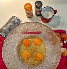huevos y sus especias